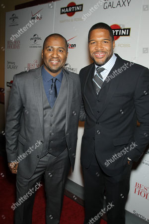 Stock Picture of Malcom D Lee, Michael Strahan