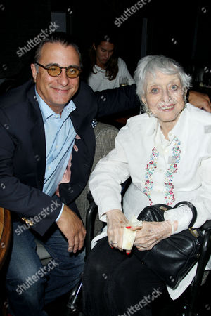 Stock Image of Andy Garcia and Celeste Holm