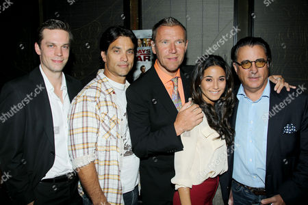 Editorial image of 5 Days Of War premiere afterparty, New York, America - 16 Aug 2011