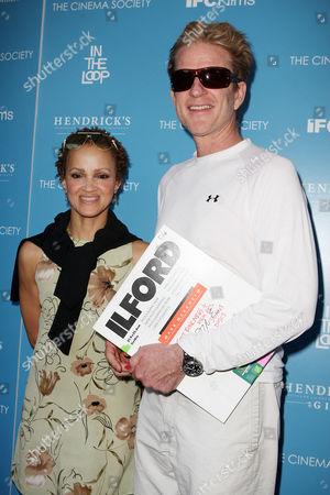 Stock Picture of Matthew Modine and Cari Modine
