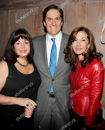Charlotte St Martin (Exec. Director, The Broadway League) and Nick Scandalios (Chairman, The Broadway League), Jan Svendsen (The Broadway League)