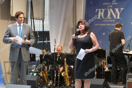 Editorial photo of 'Stars in the Alley' concert in Shurbert Alley, New York, America - 21 May 2014