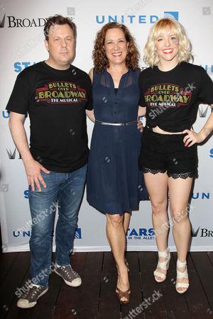 Brooks Ashmanskas, Karen Ziemba, Helene Yorke (Bullets Over Broadway)