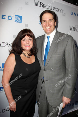 Charlotte St Martin (Exec. Director, The Broadway League), Nick Scandalios (Chairman, The Broadway League)