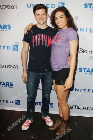 Stock Image of Kyle Dean Massey and Ciara Renee (Pippin)