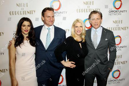 Rachel Weisz, Jason Wright, Jessica Pliska and Daniel Craig