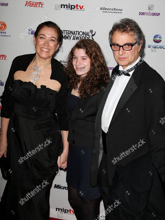 Stock Image of Lilia Cabral with guests