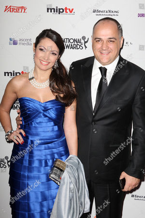 Stock Picture of Patricia Poeta with guest