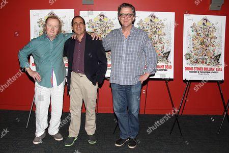 Tony Hendra, Mike Reiss and Kurt Andersen