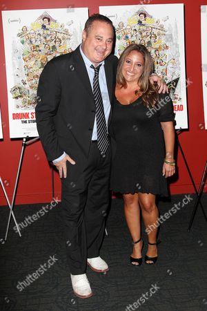 Stock Photo of Douglas Tirola (Director) and Susan Bedusa (Producer)
