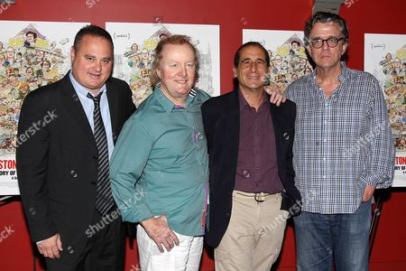 Douglas Tirola (Director), Tony Hendra, Mike Reiss and Kurt Andersen