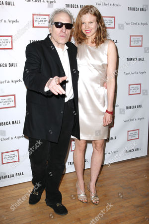 Stock Image of Abel Ferrara and Shanyn Leigh