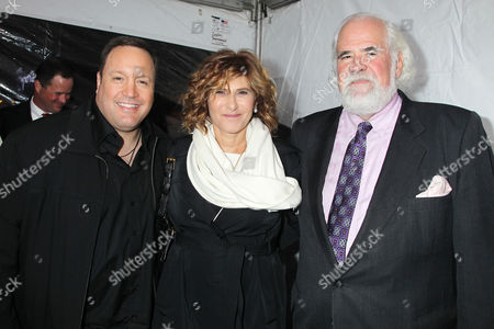 Kevin James, Amy Pascal and Jeff Blake