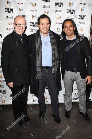 Stock Picture of Mark Erman, John Leguizamo and Abhi Rastogi