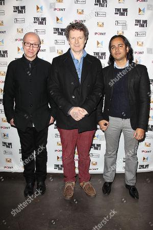 Stock Photo of Mark Erman, Michel Gondry and Abhi Rastogi