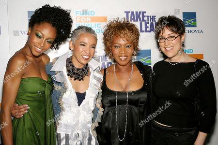 Stock Photo of Yaya DaCosta, Dianne Houston (Writer), Alfre Woodard, Diane Nabatoff(Producer)