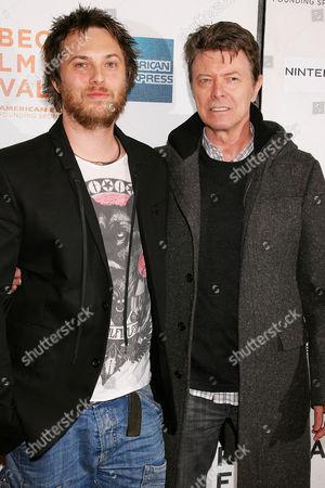 Duncan Jones and David Bowie