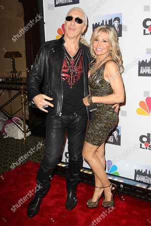 Stock Photo of Dee Snider and Suzette Snider