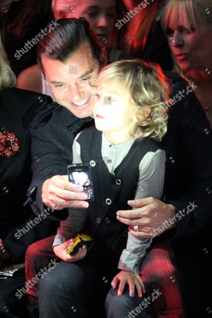 Stock Image of Gavin Rossdale and Kingston Rossdale