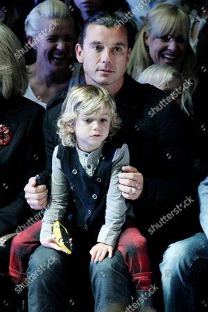 Gavin Rossdale and Kingston Rossdale