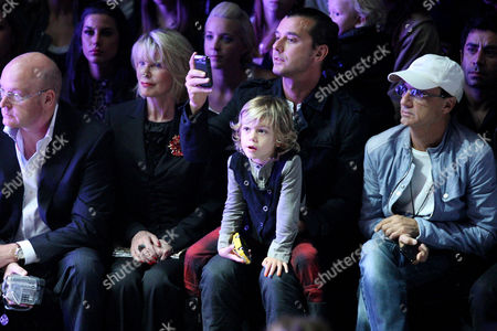 Stock Picture of Gavin Rossdale and Kingston Rossdale