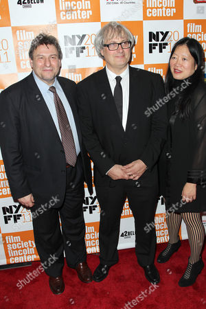 Richard Pena (NYFF), Simon Curtis (Director), Rose Kuo (Pres. NY