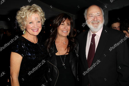 Christine Ebersole, Rob Reiner and Michele Singer Reiner (wife)