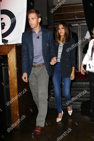 Editorial photo of 'An Honest Conversation' with Jessica Alba and Christopher Gavigan, New York, America - 29 Sep 2014