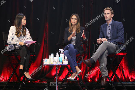 Stock Picture of Jessica Alba and Christopher Gavigan (Founders; The Honest Company)