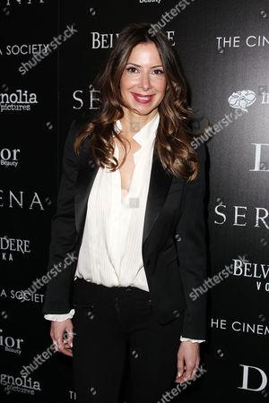 Editorial photo of Cinema Society 'Serena' film screening, New York, America - 21 Mar 2015
