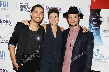 Mark Indelicato, Shailene Woodley, Shiloh Fernandez