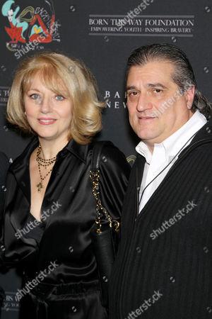 Cynthia Germanotta and Joe Germanotta