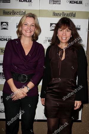 Jeanne Noonan Eckholdt (Hearst) and Robin Bronk (Executive Direc
