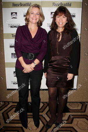 Jeanne Noonan Eckholdt (Hearst) and Robin Bronk (Executive Director Creative Coalition)