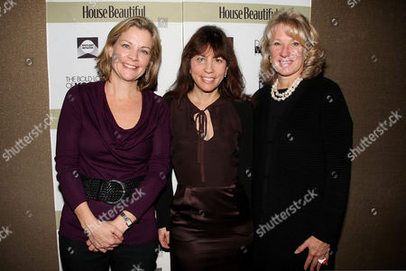 Jeanne Noonan Eckholdt (Hearst), Robin Bronk (Executive Director of Creative Coalition) and Carolyn Englefield (Editor-at-large of Veranda)