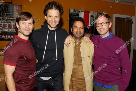 Stock Image of Hank Bedford, Bennett Miller, Tarsem Singh and Spike Jonze