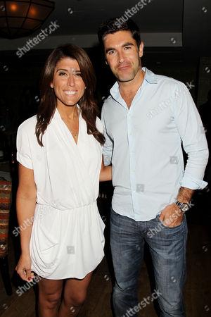 Stock Picture of Lauren Scala and Rob Schmitt