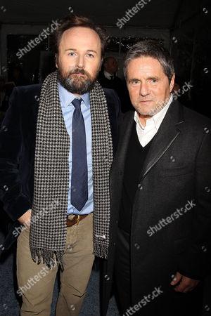 Rupert Wyatt and Brad Grey