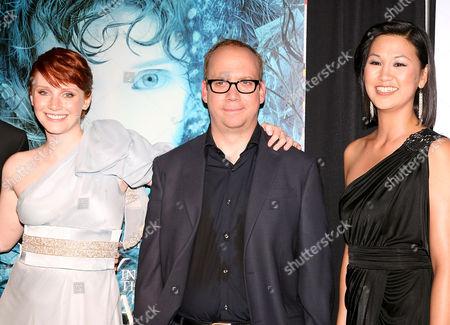 Bryce Dallas Howard, Paul Giamatti and Cindy Cheung