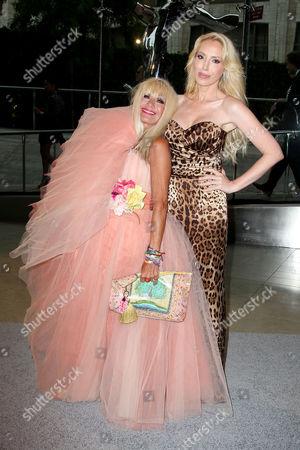 Betsey Johnson and Lulu Johnson