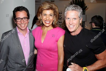 Robert Wiesenthal, Hoda Kopi and Donny Deutsch