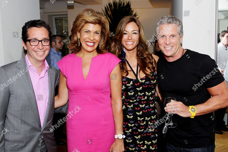 Robert Wiesenthal, Hoda Kopi, Kelly Bensimon and Donny Deutsch