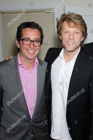 Executive Vice Pres.,Chief Financial Officer Sony Robert Wiesenthal and Jon Bon Jovi