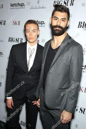 Editorial picture of 'Big Sur' film screening, New York, America - 28 Oct 2013