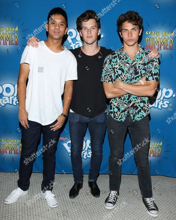Stock Image of Allstar Weekend - Zach Porter, Cameron Quiseng and Michael Martinez
