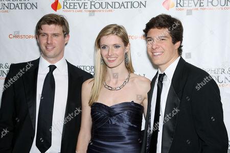 Matthew Reeve,Alexandra Reeve Givens,Will Reeve