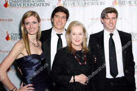 Alexandra Reeve Givens, Matthew Reeve, Meryl Streep, Will Reeve