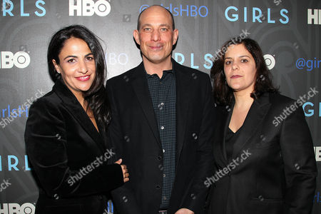 Jenni Konner, Bruce Eric Kaplan and Ilene Landress