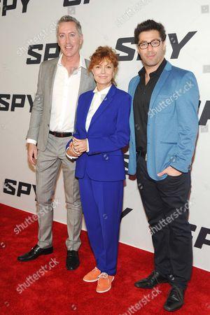 Michael McDonald, Susan Sarandon, Adam Ray