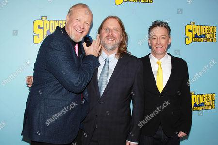 Bill Fagerbakke, Paul Tibbitt and Tom Kenny